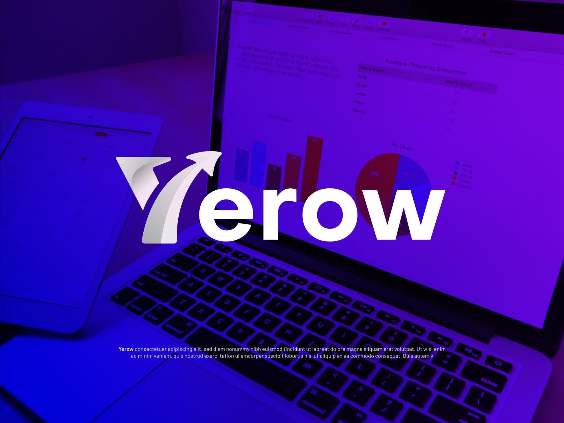 Yerow Modern Logo Design